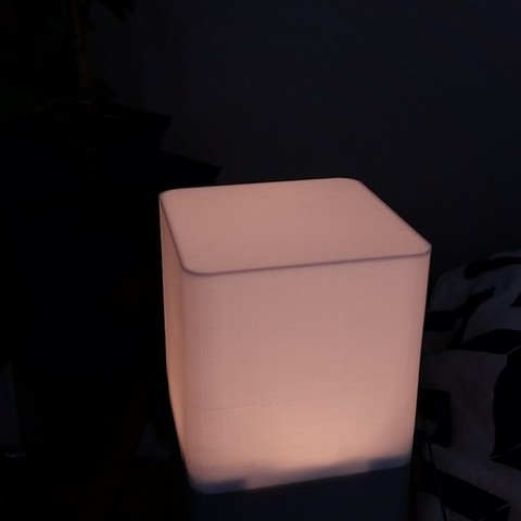 82bb079428d63920e30fc5278a187220_display_large.jpg Download free STL file Futuristic Bedside Lamp (RGBW) • Object to 3D print, Gophy
