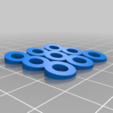 Download free 3D printer templates Angled Longboard Riser Pads + Angled Screw Washers, Gophy
