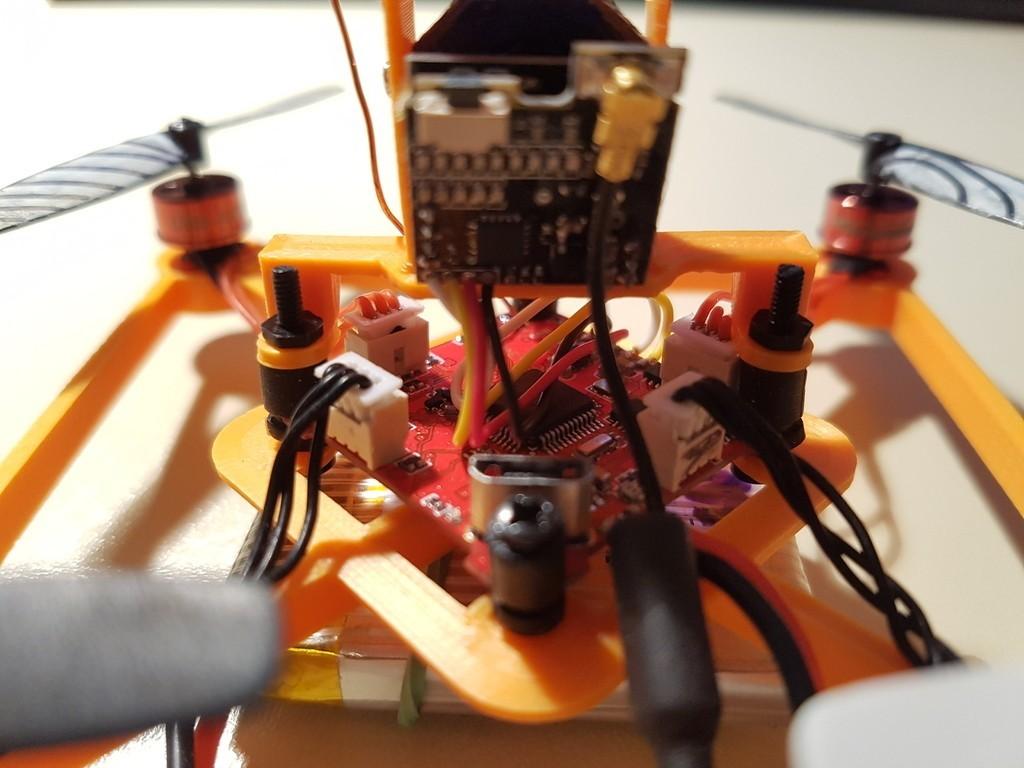 """2e4dcc5710178384fbd6ed8b04772dd5_display_large.jpg Télécharger fichier STL gratuit GR1FF V3 Cadre 2.5"""" - Moteurs 070x & 110x • Modèle pour impression 3D, Gophy"""