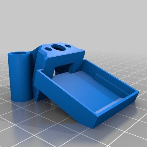 Download free STL file IFlight XL7 Bn-880 Rear Mount • 3D printing template, Gophy