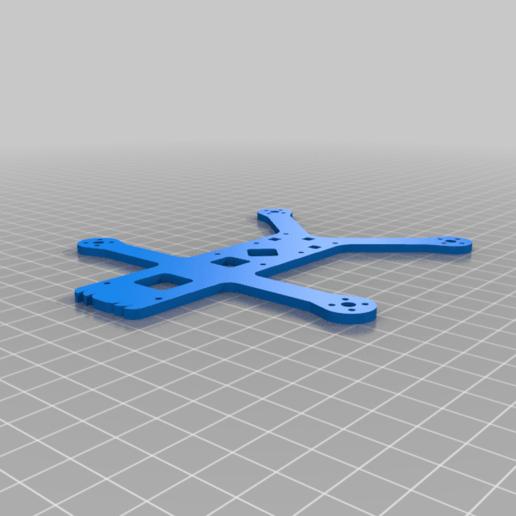 """frame_HD_v0-7.png Télécharger fichier STL gratuit Cinelad 3"""" - Cadre HD compact et léger • Modèle à imprimer en 3D, Gophy"""