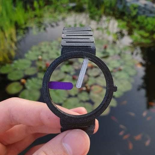 Télécharger STL gratuit Concept de montre squelette, Gophy