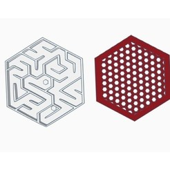 Free 3d printer model Mini marble maze + Keychian Version, Gophy