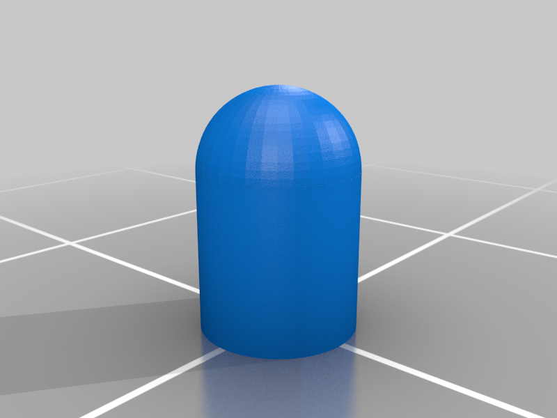 trx_27mhz_radio_antenna_cap.png Download free STL file Traxxas 1/16 Chassis Mod • 3D printable design, Gophy