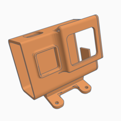sdgfadhfhdffgsdf.PNG Download free STL file Readytosky Alien clone Hero5 6 7 mount • Model to 3D print, Gophy