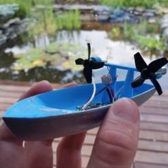 Download free 3D printer designs TINY BOAT V3, Gophy