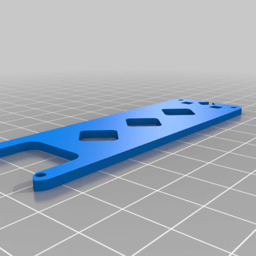"""frame_HD_v0-7_top.png Télécharger fichier STL gratuit Cinelad 3"""" - Cadre HD compact et léger • Modèle à imprimer en 3D, Gophy"""