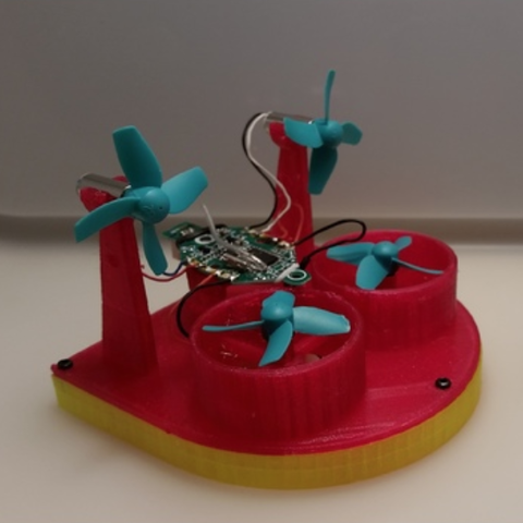 Download Free 3d Printer Files Tiny Whoop Hovercraft
