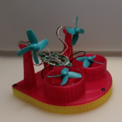 Free 3d model Tiny Whoop Hovercraft + Racing Edition V2, Gophy