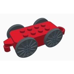 Descargar archivo 3D gratis Tren de riales de madera - Actualizaciones + Piezas de competición!, Gophy