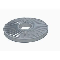 diseños 3d gratis Rotador de turbina fijo, Gophy