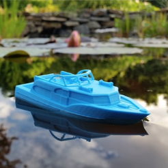 Free 3d model CHRIS - The Motor Cruiser (Easy to print), Gophy