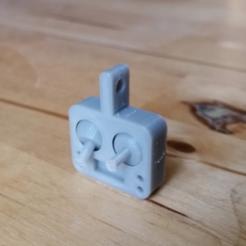 Télécharger fichier impression 3D gratuit Porte-clés Fidget Radio V3.1, Gophy