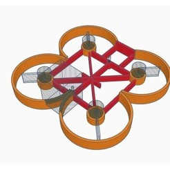 Free stl file E011 Ducted Frame (Nano Whoop), Gophy