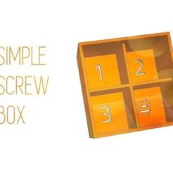 61bc8fb27f2de0e0c2b5f0b6ac8147e5_preview_featured.jpg Télécharger fichier STL gratuit S C R E W - B O X B O X • Modèle à imprimer en 3D, Gophy