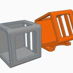 Download free 3D printer templates Runcam 5 Case / Mark II 25° mount, Gophy