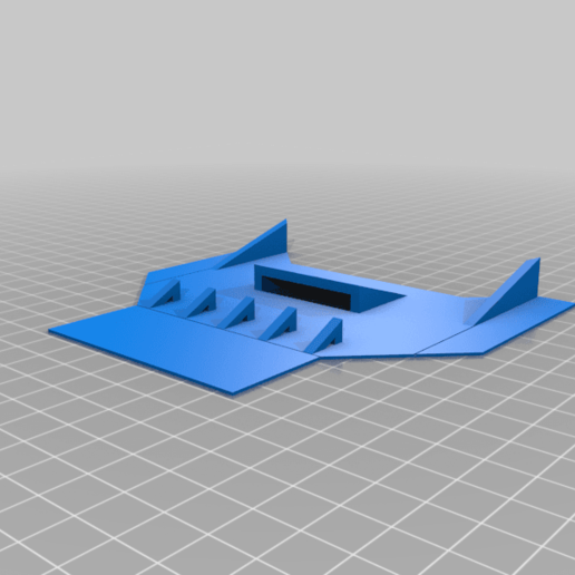 trx_canopy.png Download free STL file Traxxas 1/16 Chassis Mod • 3D printable design, Gophy