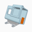 martian_hero_mount.PNG Download free STL file HERO5 6 7 - Martian II Rugged Mount • 3D printing template, Gophy
