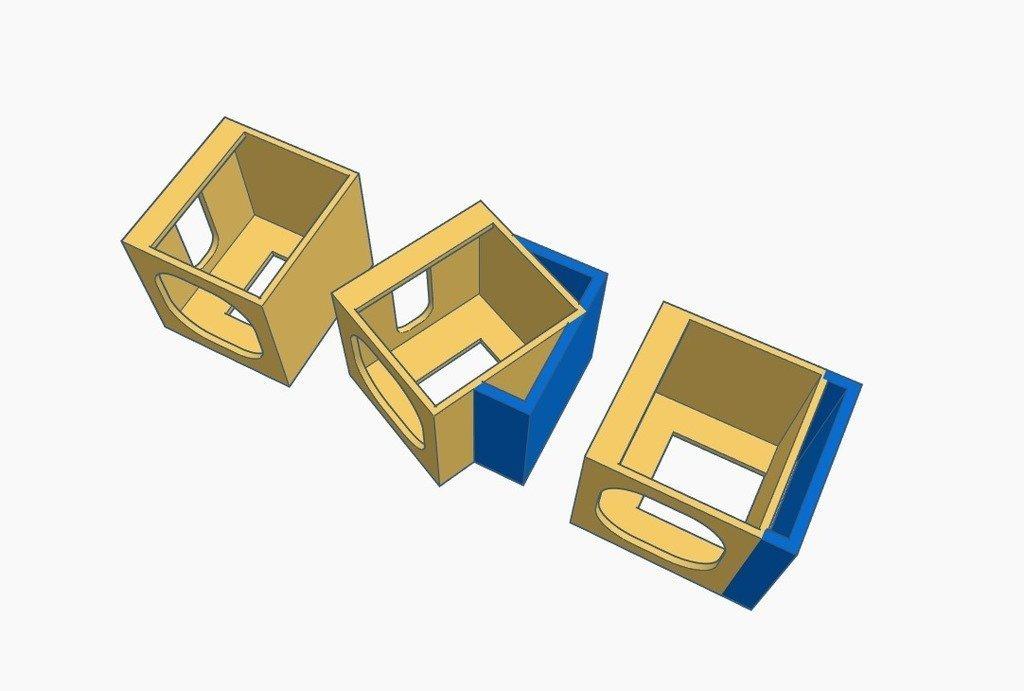 6b93c3ed5d20ac1abfda4e330be179e4_display_large.jpg Download free STL file Quelima SQ20 Case - 0/25° • 3D printer model, Gophy