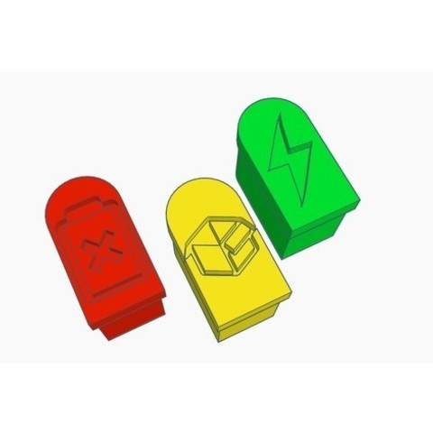 aa37d4a5f743e953697f01d616856239_preview_featured.jpg Download free STL file XT30 Caps - 1 Color Only • 3D print design, Gophy