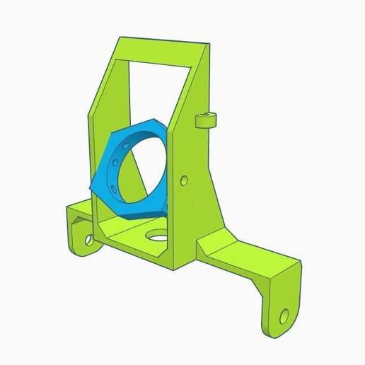 Download free STL file Tiny Whoop camera mount - MK2 (E010 style) • 3D printing template, Gophy