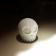 Capture d'écran 2018-07-24 à 16.49.54.png Download free STL file Skully Phone Flash Disperser • 3D print design, Gophy