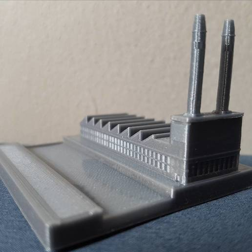 20190906_123215_0001.jpg Download free STL file Mini factory with real river • 3D printer model, Gophy