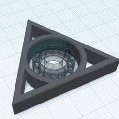 Télécharger plan imprimante 3D gatuit FIgdet Spinner Triangle de rotation FIgdet, Gophy