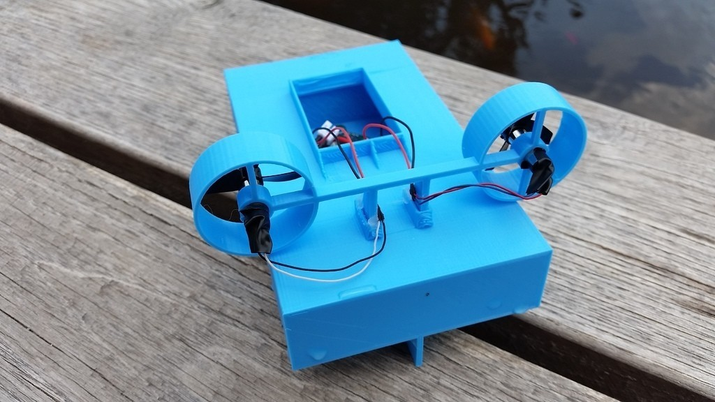 bc05f6e09d29dccd5be2986332046fbe_display_large.jpg Download free STL file Tiny Boat MK2 • 3D printer object, Gophy
