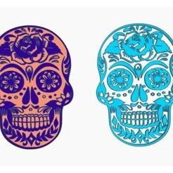 Descargar archivos 3D gratis Cráneo - Día de los Muertos, Gophy