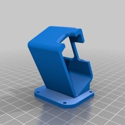Download free 3D printer templates GepRC Mark II Gopro HERO 7 Mount, Gophy