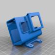 Download free STL file Readytosky Alien clone Hero5 6 7 mount • Model to 3D print, Gophy