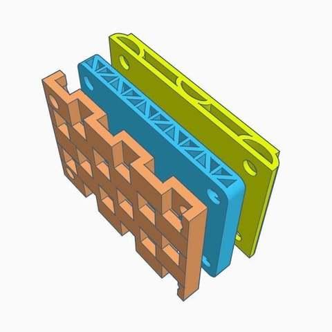 Télécharger fichier imprimante 3D gratuit Dumpers Vibratoïne Longboard (bêta), Gophy