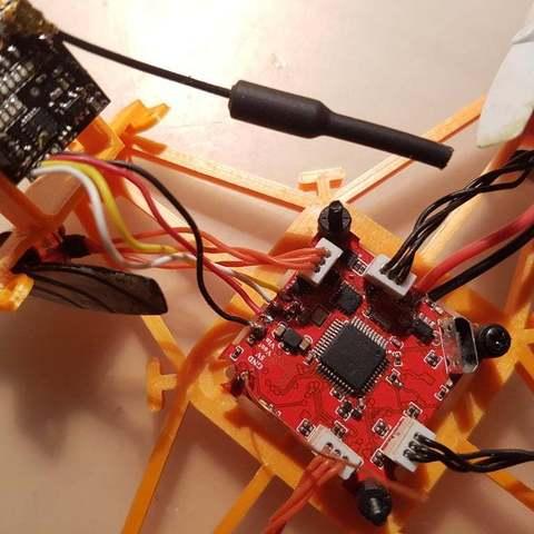 """eb26e1a046f57bc79affe3271461e9a5_display_large.jpg Télécharger fichier STL gratuit GR1FF - Châssis 3"""" - 110x moteurs • Modèle pour impression 3D, Gophy"""