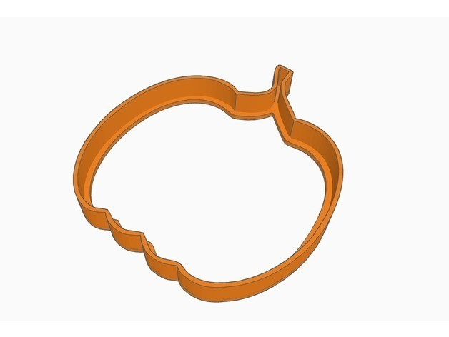 7397d9f2759730cec7138cddf1607df2_preview_featured.jpg Download free STL file Cookie cutter - Pumpkin • 3D printer design, Gophy