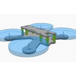 Télécharger fichier impression 3D gratuit QAV-R 120H - Cadre de 2,5 po., Gophy