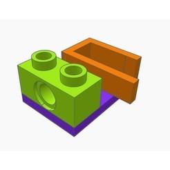 Modelos 3D para imprimir gratis LEGO Working Canon V1, Gophy