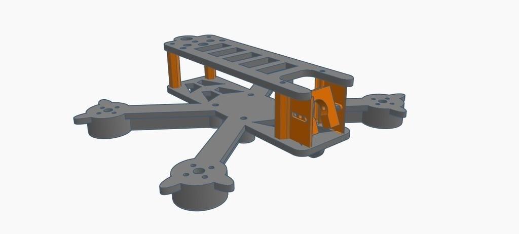 """638b3691441a5ec1acac2f5bf098c424_display_large.jpg Télécharger fichier STL gratuit TTGT S 120mm - Cadre 2.5"""" Freestyle • Plan pour imprimante 3D, Gophy"""