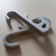 Capture d'écran 2018-07-19 à 17.10.25.png Download free STL file Hook for locker (Gym, School ...) • 3D printable design, Gophy