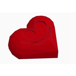 Free 3d print files Low Poly Valentine Day Heart, Gophy