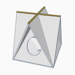Download free STL file A-Frame Bird House / Feeder - Tweaked • 3D printing model, Gophy