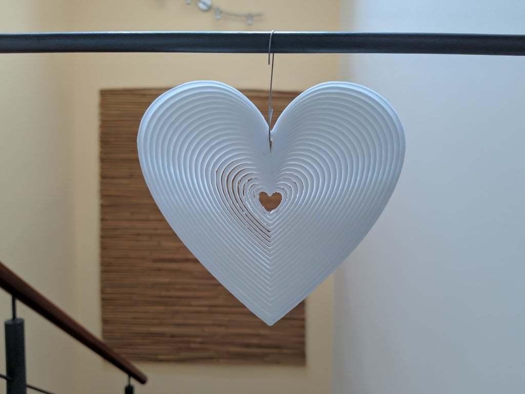 IMG_20200429_154907.jpg Download free STL file Trippy Heart Deco • 3D printer template, Gophy