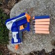 Download free STL files NERF Darts - Custom Tips, Gophy