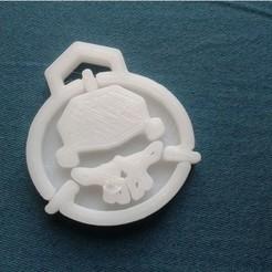 Télécharger modèle 3D gratuit ROTOR RIOT LOGO KEYCHAIN - Porte-embouts différents., Gophy