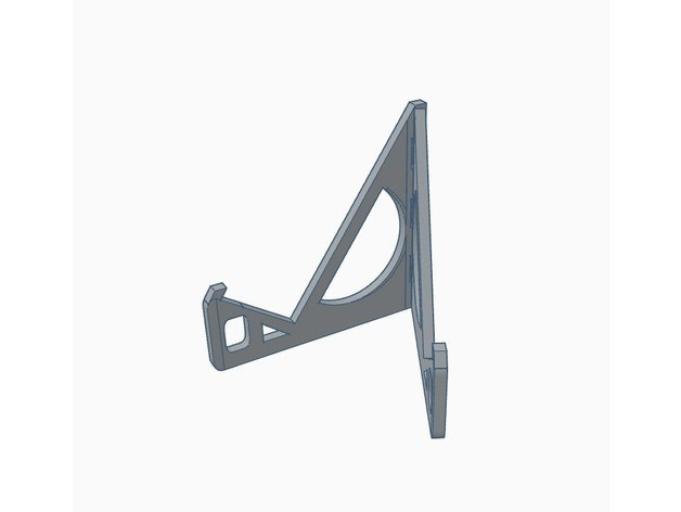 3dffe7ce626493d763f16c2d02ccabb3_preview_featured.jpg Download free STL file Simple Phone Stand + Credit Crad Size Version • 3D printer template, Gophy