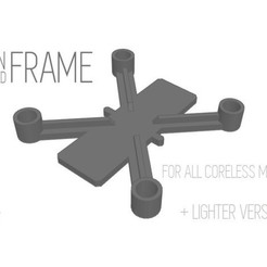 Free stl files Drone Frame for all motor sizes ! - 6mm,6.5mm,7mm,7.5mm,8mm,8.5mm, Gophy