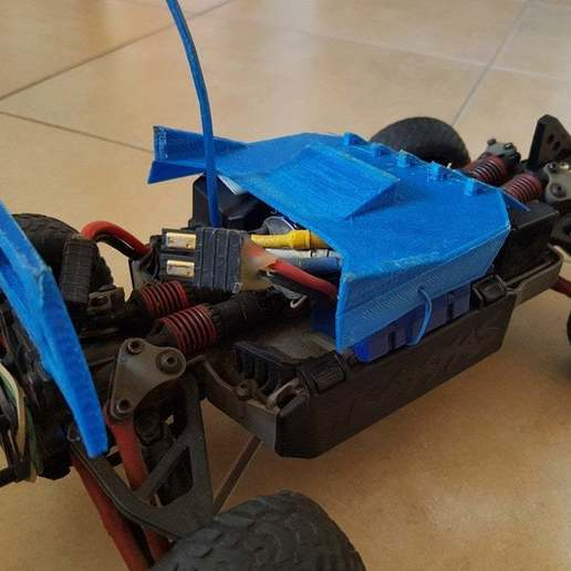20200407_171948_copy_2016x1512.jpg Download free STL file Traxxas 1/16 Chassis Mod • 3D printable design, Gophy