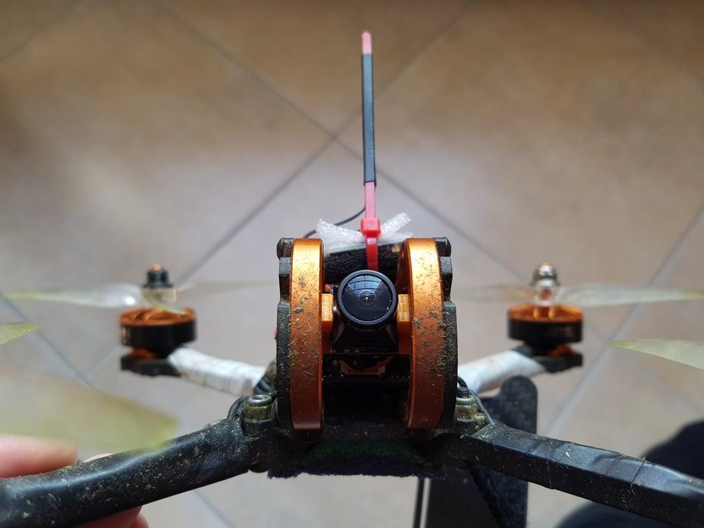 10030df081f8cfab8e80af477983b08a_display_large.jpg Download free STL file Caddx EOS2 / Runcam Nano - Full Size Camera adapter • 3D printer template, Gophy