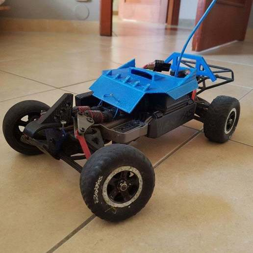 Download free 3D printer files Traxxas 1/16 Chassis Mod, Gophy