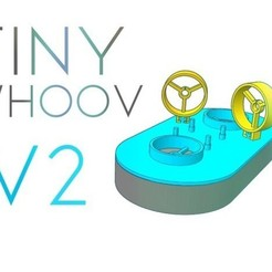 Free 3d print files Tiny Whoop Hovercraft V2 !, Gophy